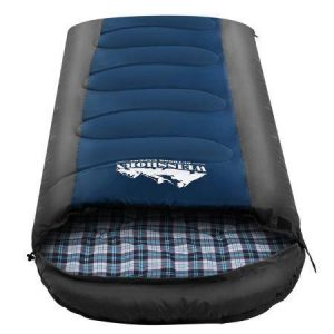 Weisshorn Sleeping Bag Bags Single Camping Hiking -20?C to 10?C Tent Winter Thermal Navy