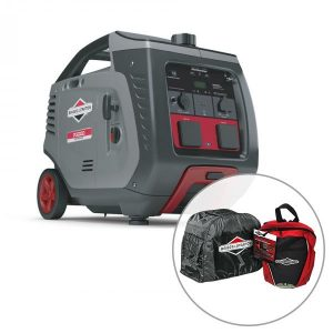 Briggs & Stratton P3000i, 3000w Inverter Generator with Bonus Pack, 3 Year Warranty