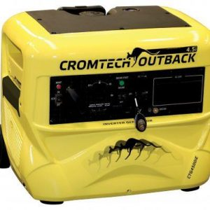 Cromtech 4500w Inverter Generator Electric Start, 1 Year Warranty