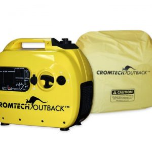 Cromtech Outback 2400w Inverter Generator with Cover, 1 Year Warranty