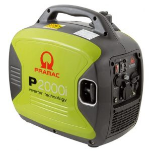 Pramac 2000W Inverter Generator Powered by Yamaha, 1 Year Warranty