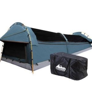Weisshorn Swags Double Camping Swag Water Reistant Ripstop Canvas 2 Person