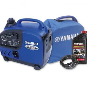 Yamaha EF1000iS, 1000w Inverter Generator with Bonus Pack, 4 Year Warranty