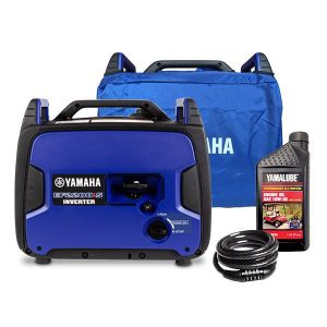 Yamaha EF2200iS, 2200w Inverter Generator with Bonus Pack, 4 Year Warranty