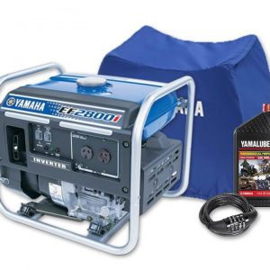 Yamaha EF2800i, 2800w Inverter Generator with Bonus Pack, 4 Year Warranty