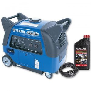 Yamaha EF3000iSE, 3000w Inverter Generator with Bonus Pack, 4 Year Warranty