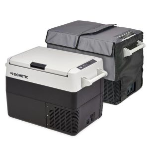 Dometic CFF45, 45 Litre Portable Fridge Freezer with cover, 3 Year Warranty
