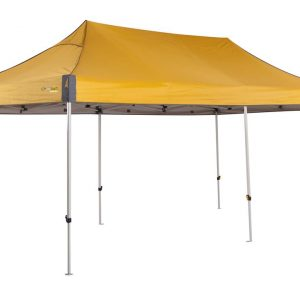 OZtrail Deluxe 6.0 Gazebo - Yellow
