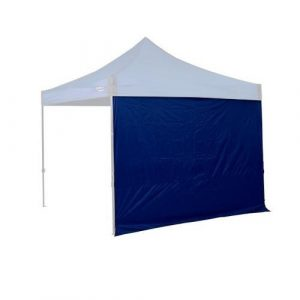 OZtrail Gazebo Fiesta Solid Wall 3.0 - Blue