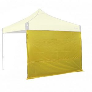 OZtrail Gazebo Fiesta Solid Wall 3.0 - Yellow
