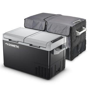 Dometic CFF70DZ 70 Litre Dual Zone Portable Fridge / Freezer with Cover, 3 Year Warranty