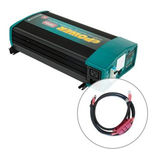 Enerdrive ePOWER 2000W 12V Pure Sine Wave Inverter and RCD & AC Transfer Switch with DC Cable Pack, 5 Year Warranty