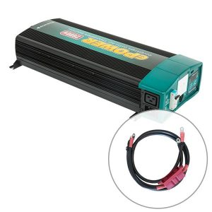 Enerdrive ePOWER 2600W 12V Pure Sine Wave Inverter and RCD & AC Transfer Switch with DC Cable Pack, 5 Year Warranty