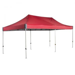 OZtrail Deluxe 6.0 Gazebo - Red