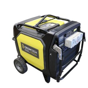 Cromtech TG7000iE 7000w Inverter Generator with Hire Pack, 1 Year Warranty