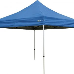 Outdoor Connection Premier Aluminium Gazebo 3x3m with 300gsm Blue Canopy